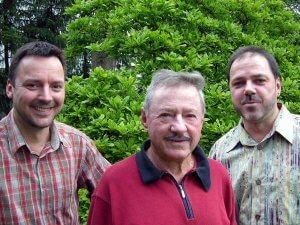Burkhard, Oskar und Ingo Adam - Zwei Generationen und drei Meister.