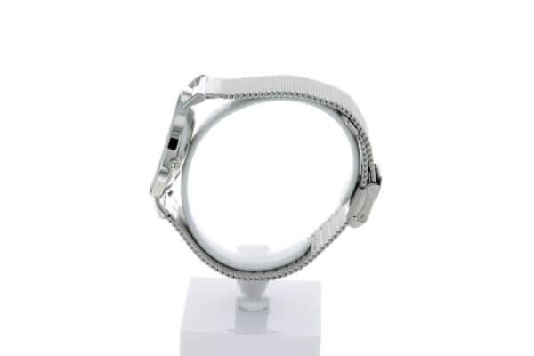 Hagen Uhr HagenUhr36MB in Edelstahloptik in 36mm Durchmesser mit Milanese Armband - Seiteliche Ansicht von Rechts