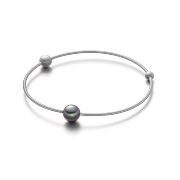 eva strepp as3 ta Edelstahltspirale mit Perlen