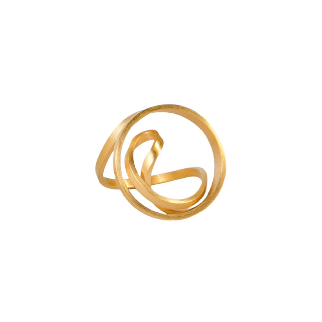 Juta Ulland Dreh dich Ring Model 274 aus 750 Gold