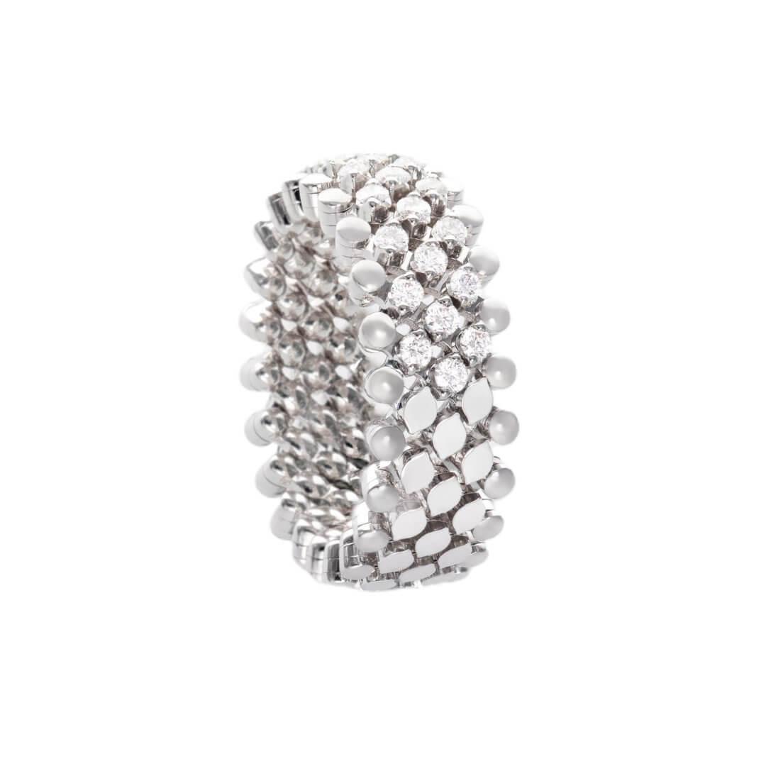 Serafino Consoli Ring aus der Brevetto Kollektion ModellRMS 5HM2 WG WD