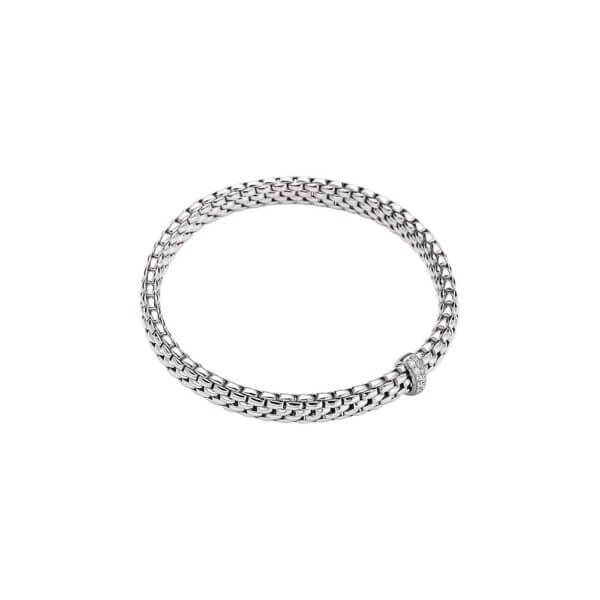 FOPE flexibles Armband aus Weißgold mit Brillanten aus der Kollektion VENDÔME - liegend