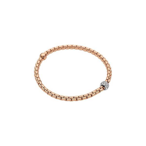 FOPE Armband 733B mit Diamantpavé in Rosegold